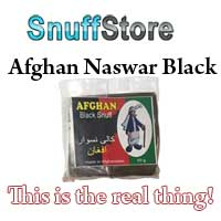 This is the real deal. Afghan Naswar Black.