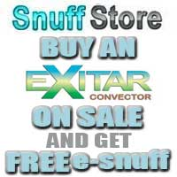 Buy an eXitar convector on sale and get a free esnuff.
