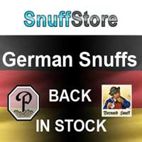 Poschl and Bernard snuffs back in stock.