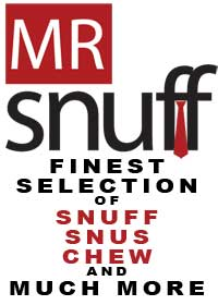 Mr.Snuff-Finest Selection of Snuff, Snus, Chew and Much More
