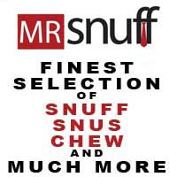 Mr.Snuff-Finest Selection of Snuff, Snus and Chew and Much More