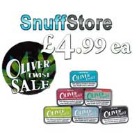 Oliver Twist Tobacco Bits. Only £4.99 ea.