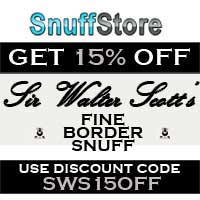 Get 15% off all Sir Walter Scott snuffs.